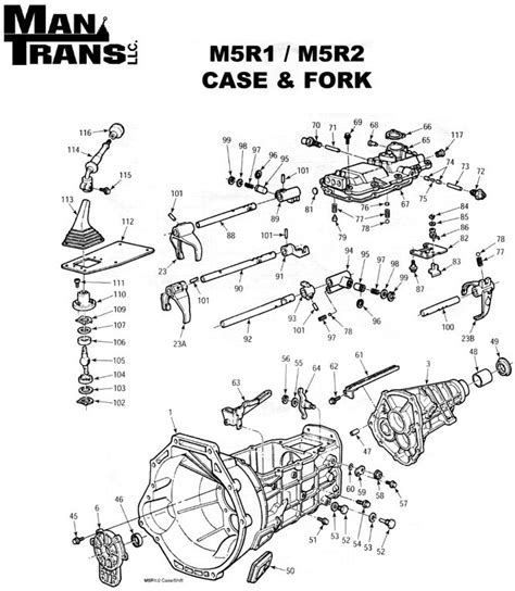 small engine service manuals 1999 ford f350 transmission control m5r1 m5r2 case fork manual transmission repair
