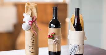 wine for gift 3 beautiful handmade wine bottle gift wrap ideas wine occasions publix markets