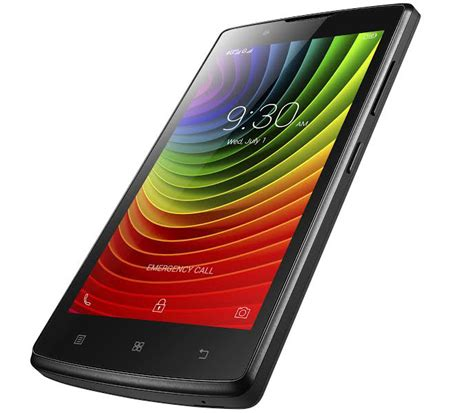 Lenovo A2010 telefon mobil lenovo a2010 dual sim 4g black