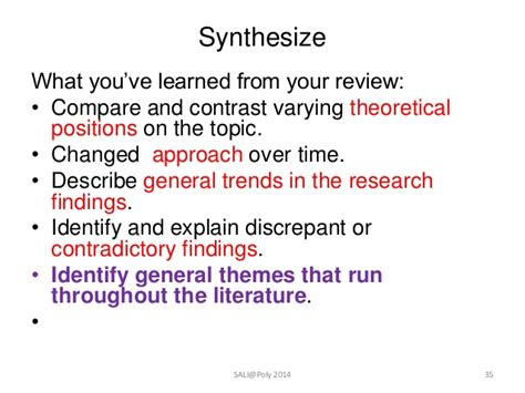 identifying themes in literature review how to start your literature review