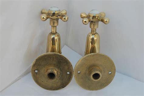 Wall Mounted Kitchen Sink Taps Brass Wall Mounted Belfast Kitchen Sink Taps Reclaimed