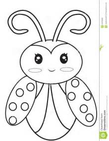 Ladybug Coloring Page Stock Illustration Image 50278089