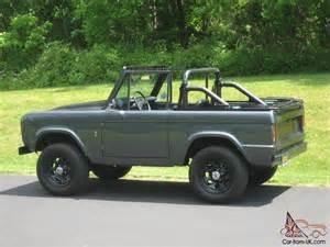 1972 Ford Bronco 1972 Ford Bronco 4 6 Cobra Motor Restomod Frame