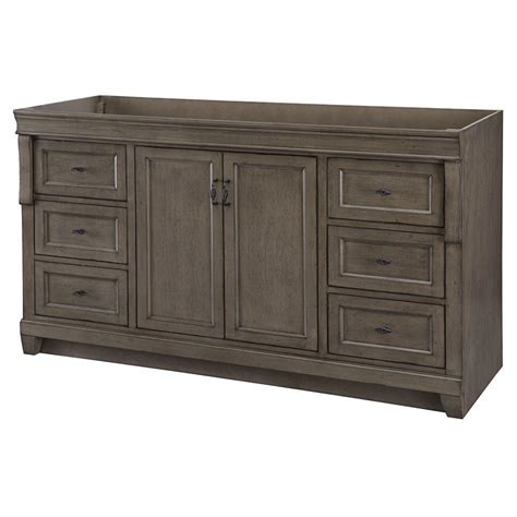 Bathroom Vanity Cabinets With Tops Home Decorators Collection Gazette 24 In W X 18 In D Vanity Cabinet Only In Grey Gaga2418