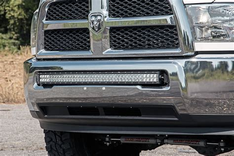 bumper mount light bar 40in dual single row curved led light bar bumper