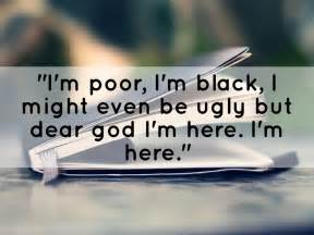 color purple quotes i might be black the color purple by abby curtis