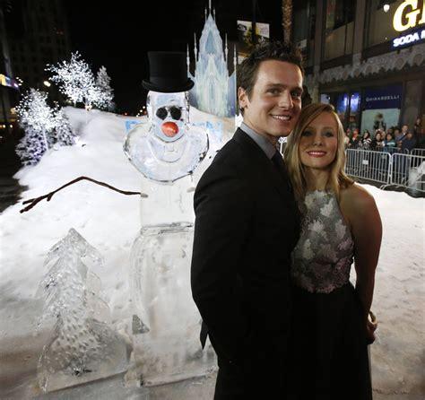 frozen film premiere kristen bell at frozen movie premiere in los angeles