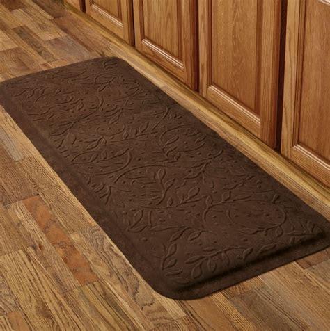 cushioned kitchen mats bed bath   home design ideas