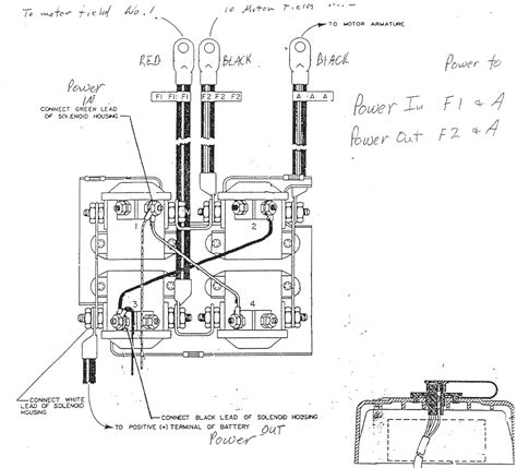 warn winch remote wiring diagram get free image