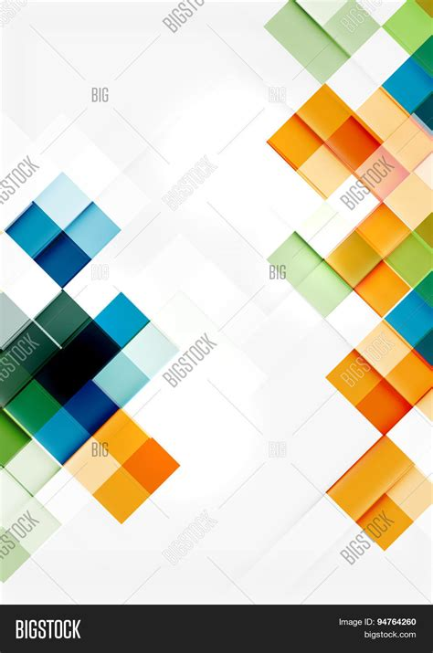pattern background app square shape mosaic pattern design vector photo bigstock