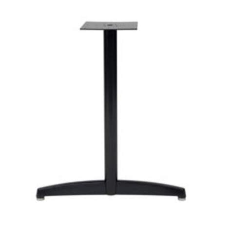 Gibraltar Table Bases by Duracast T Base By Gibraltar Table Bases Kitchensource