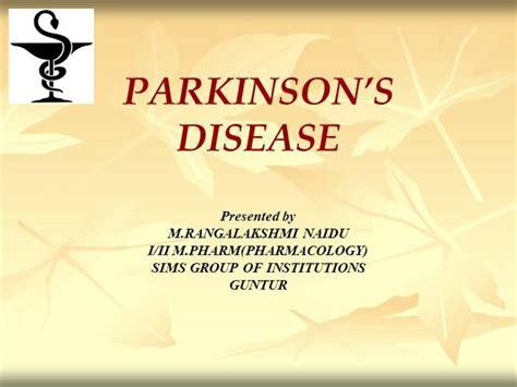 Parkinson S Disease Authorstream Parkinson S Disease Powerpoint Template