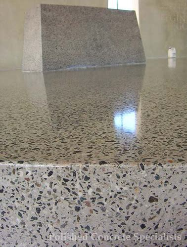 Polished concrete floor finish   This is the look we would