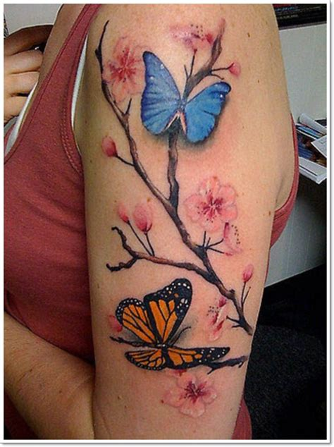 half butterfly tattoo designs cool ideas for a butterfly feel more like