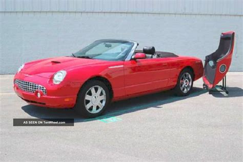 2005 Ford Thunderbird by 2005 50th Anniversary Ford Thunderbird