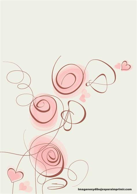 imagenes de flores gratis imprimir gratis hojas con fondos flores de papel