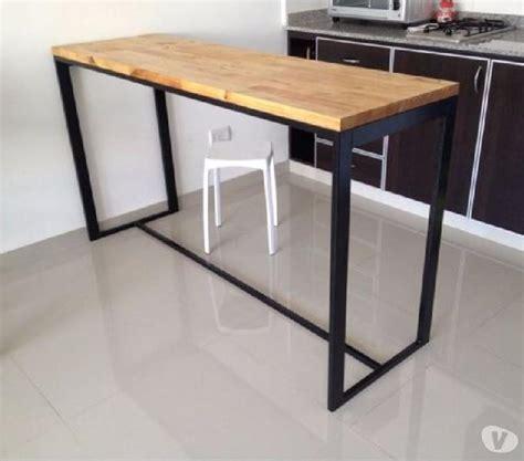 mesas muebles madera clasf - Muebles De Madera Y Hierro