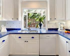 White And Blue Kitchen Cabinets Pinterest The World S Catalog Of Ideas