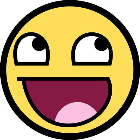 emoji xd happy face image clipart best