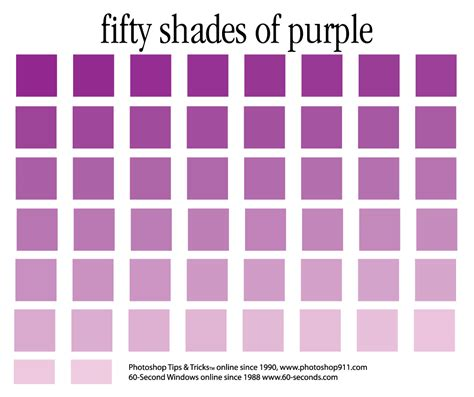 shades of purples the color purple dtg magazine graphic design com