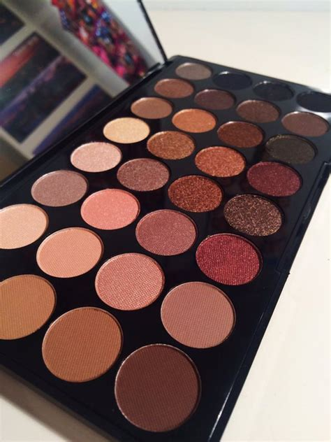Original Brown Ultra Eyeshadow Palette Preloved makeup revolution ultra eyeshadows flawless review emilyrobxrts