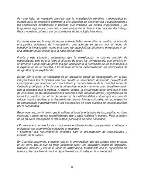 universidad autonoma de coahuila 081201 universidad autonoma de coahuila cronica de una