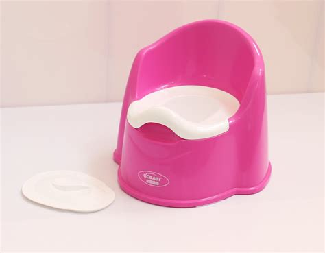 pink high quality baby potty seat baby toilet plastic