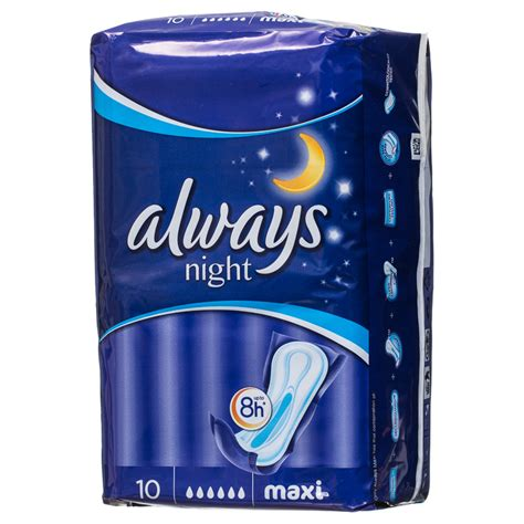 bm  maxi night sanitary pads pk  bm