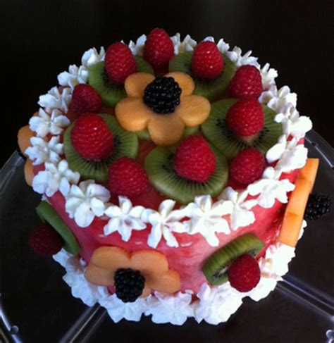 Fruit Cake Decoration by Fruit Cakes Decoration Ideas Birthday Cakes
