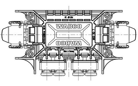 wabco abs trailer wiring diagram wabco get free image