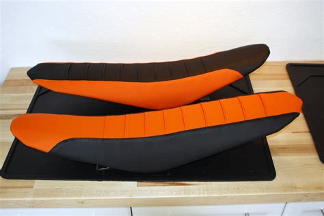 Ktm Seats Pleated Gripper Seat Covers For Ktm By Flu Designs