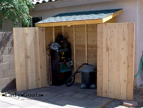 Building A Shed In The Garden