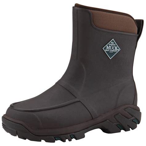 mens muck boots s muck boots 10 quot uplander hg waterproof rubber