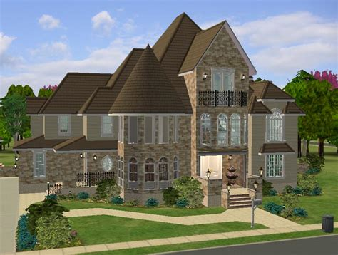 contemporary victorian homes mod the sims the modern victorian