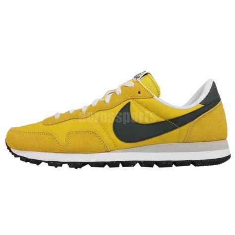 vintage nike running shoes nike air pegasus 83 yellow green mens vintage running