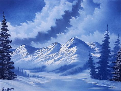 bob ross paintings authentic authentic bob ross painting choice image wallpaper and