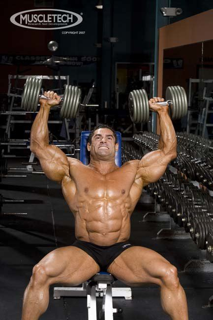 build delts and horseshoe tris just like