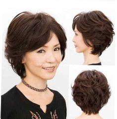 bildergebnis fuer leichte dauerwelle kurze haare frisuren