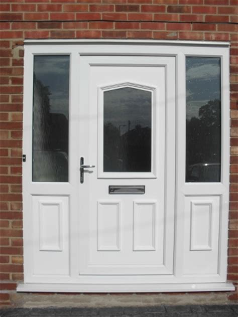 Upvc Front Doors With Side Panels Ian Saunders Upvc Windows Doors Joinery Glazing Installers In Burton On Trent