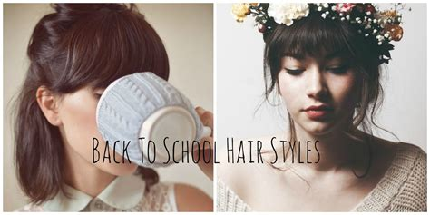 adorable back to school hairstyles perks of being a reader cute back to school hair styles