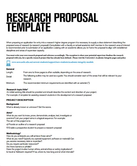 research project report template 8 research project templates sle templates