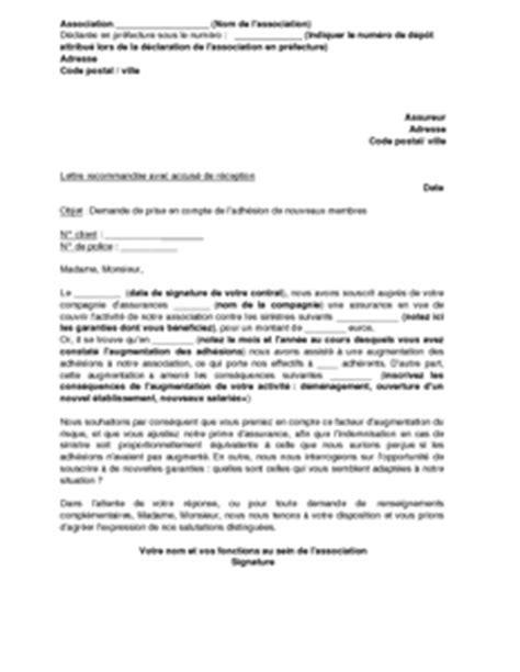Demande De Lettre D Augmentation Lettre De Demande D Augmentation De L Assurance D Une Association Suite 224 Une Hausse Des