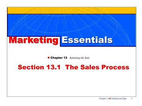 sales section ppt section 13 1 the sales process powerpoint
