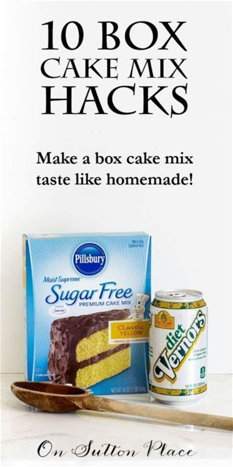 17 Best ideas about Box Cake Mixes on Pinterest   Sweet