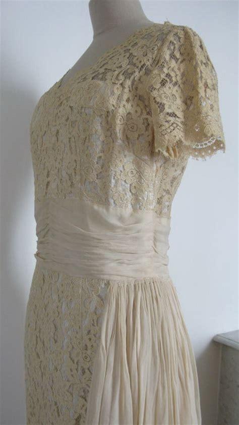 robe vintage dentelle