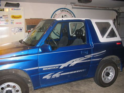 Suzuki Sidekick Convertible 1994 Suzuki Sidekick Pictures Cargurus