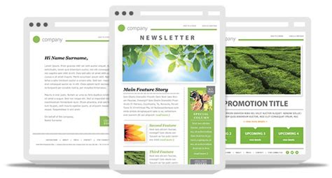 newsletter template practices increase email