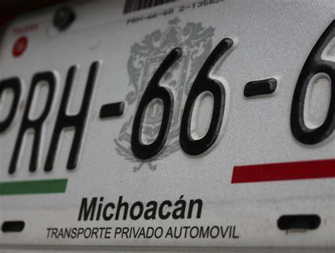 requisitos canje de placas michoacan 2016 newhairstylesformen2014 detalles del trmite michoacan costo de placas