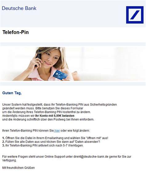 deutsche bank spam direkt deutsche bank de 187 erfahrungsberichte