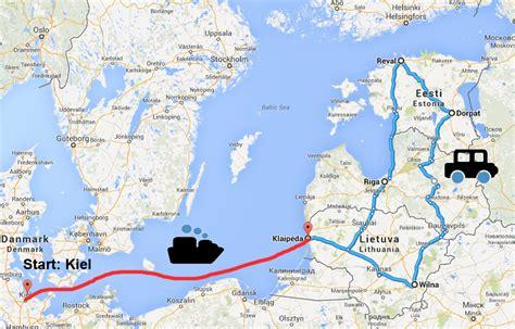 Motorrad Reisen Ins Baltikum by Gro 223 E Baltikum Rundreise Mit Dfds Seaways Zu Gewinnen